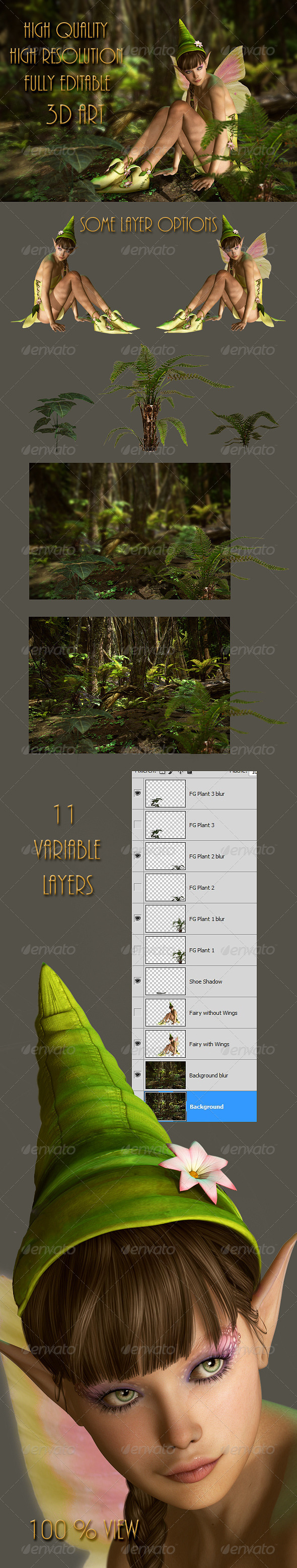 GraphicRiver In the Fairy Forest 5134143