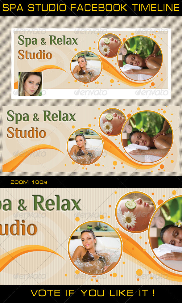 GraphicRiver Spa Studio Facebook Timeline 5134171