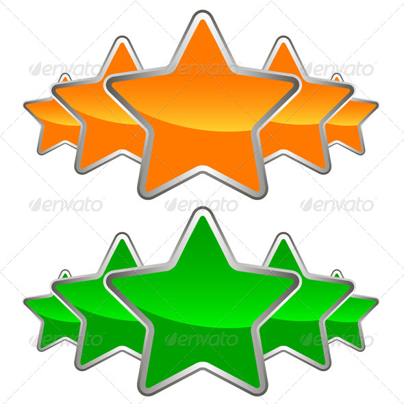 GraphicRiver Set of Stars 5134350