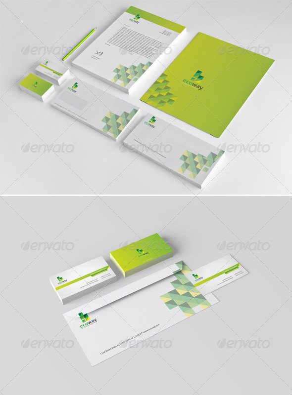 GraphicRiver Ecoway Corporate Identity 5135101
