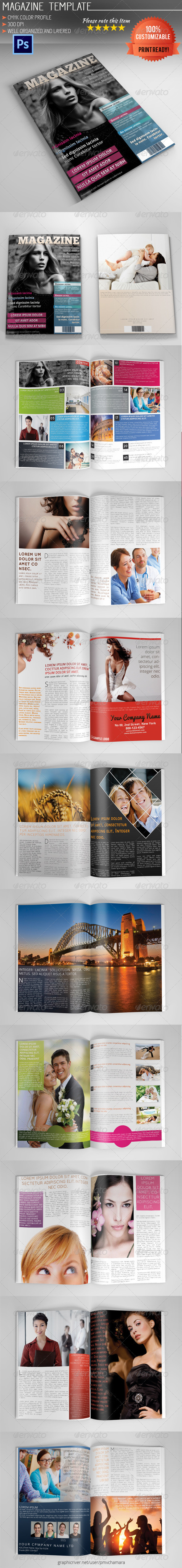 GraphicRiver Magazine Template Vol.1 5135629
