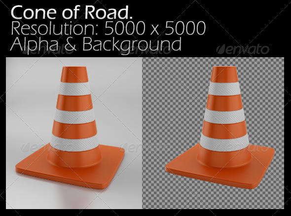 GraphicRiver Cone of Road 5135789