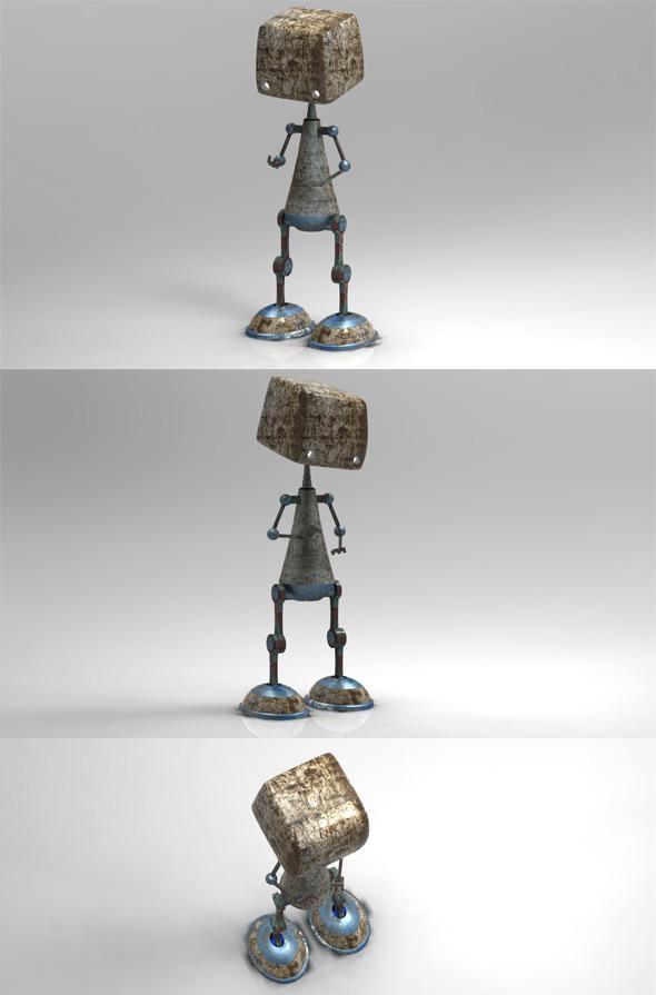 3DOcean Robot 528072