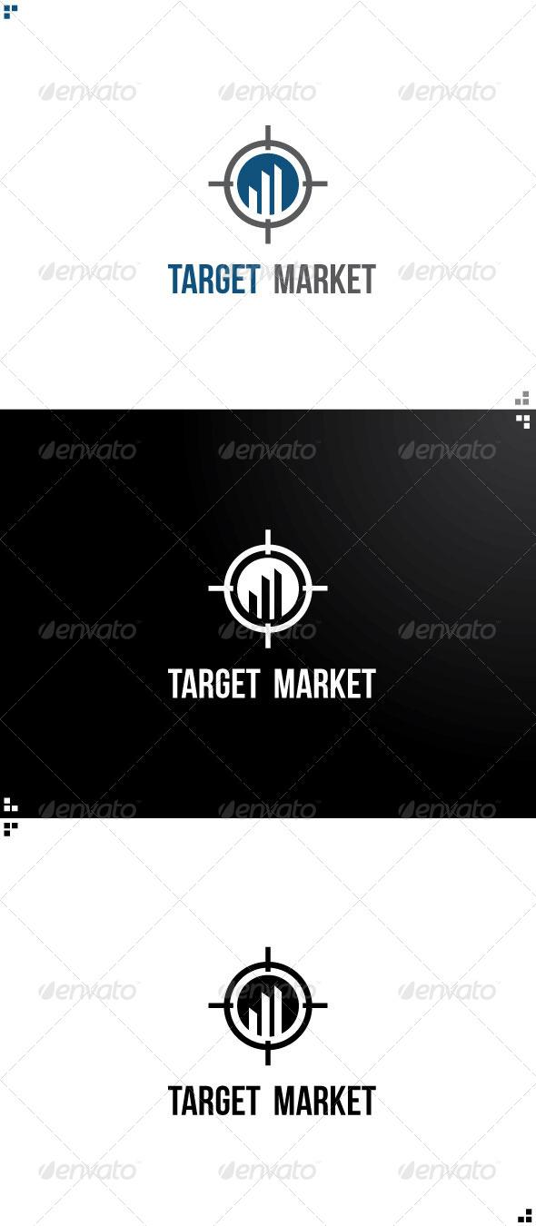 GraphicRiver Target Market Logo Design 5136176