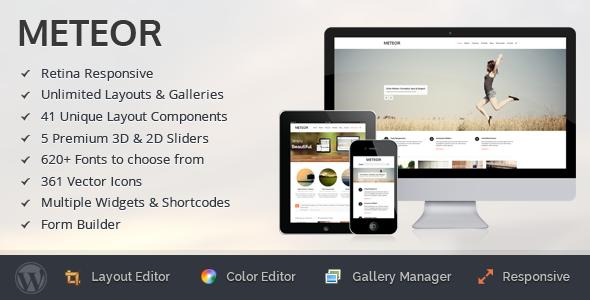Meteor - Retina Responsive WordPress Theme - Meteor - Retina Responsive WordPress Theme