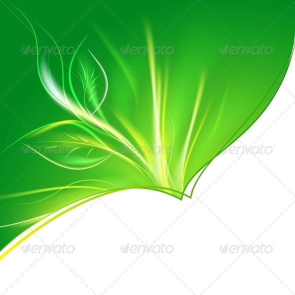 GraphicRiver Abstract Green Background 5136592