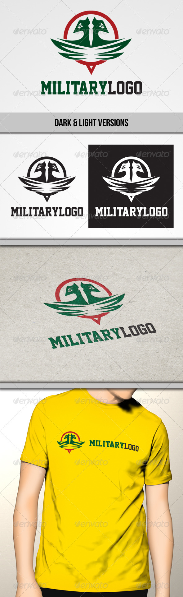 GraphicRiver Military Logo 5136599