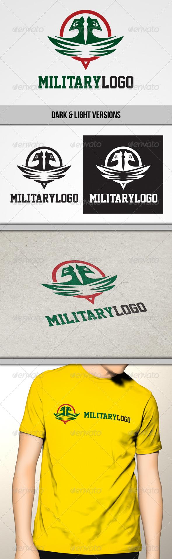 Military Logo - Symbols Logo Templates