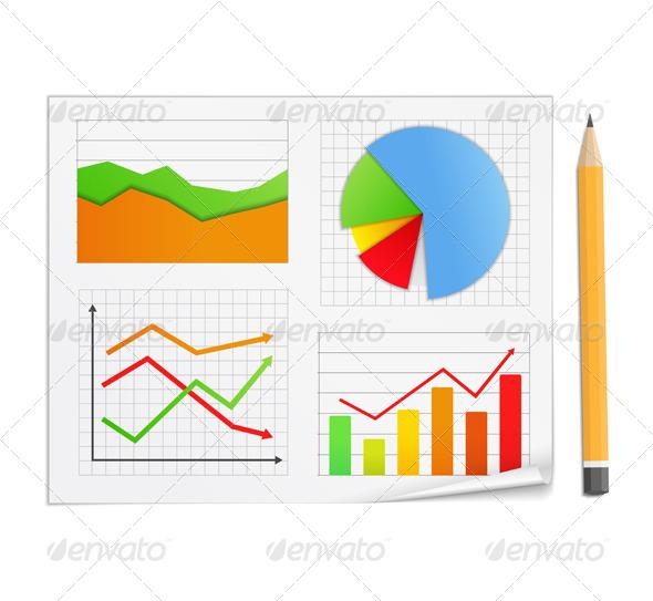 GraphicRiver Graphs 5136651