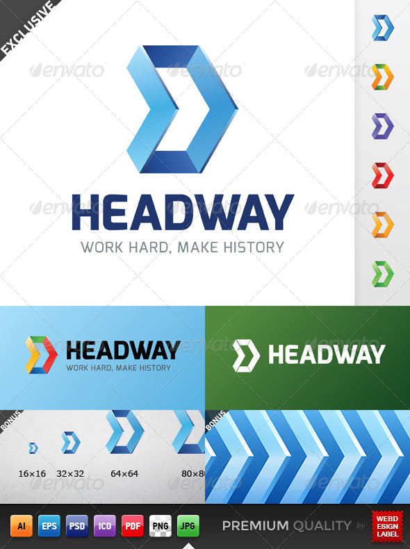 GraphicRiver Headway Logo 5136694