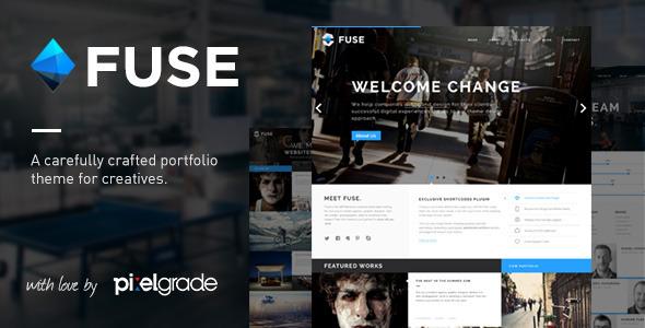 ThemeForest Fuse Responsive Portfolio & Blog Wordpress Theme 5136837