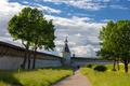 Inner courtyard Pskov Kremlin in the evening - PhotoDune Item for Sale