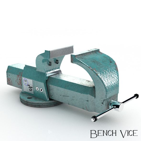 Bench Vice - 3DOcean Item for Sale