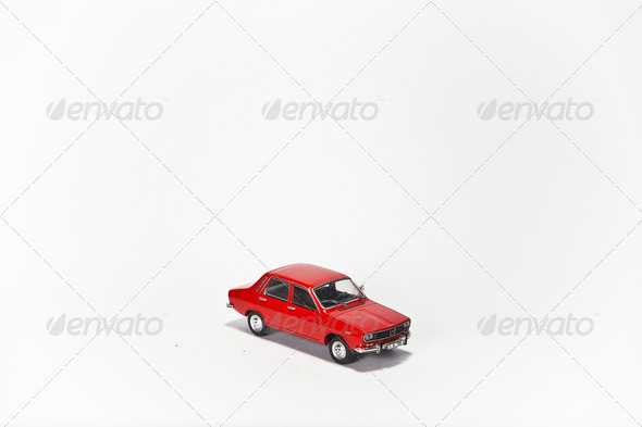 Red Toy Car - Stock Photo - Images