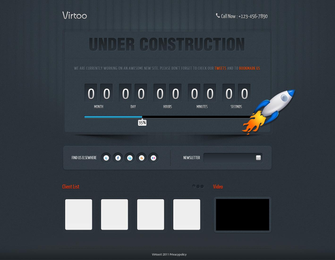 Virtoo – Under Construction Page