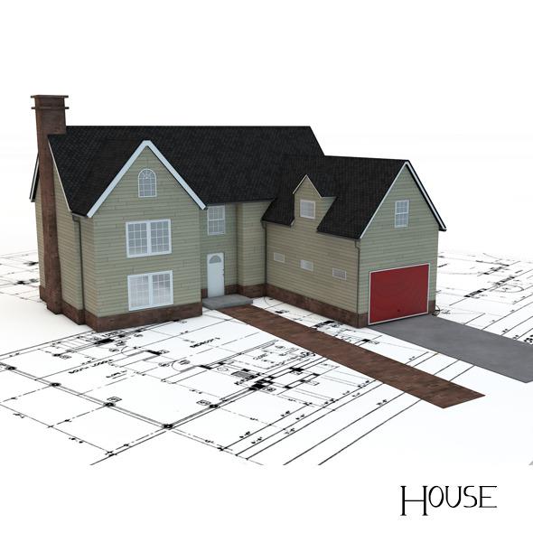 3DOcean House 5137209