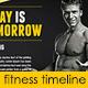 Fitness Gym Fb Timeline - GraphicRiver Item for Sale