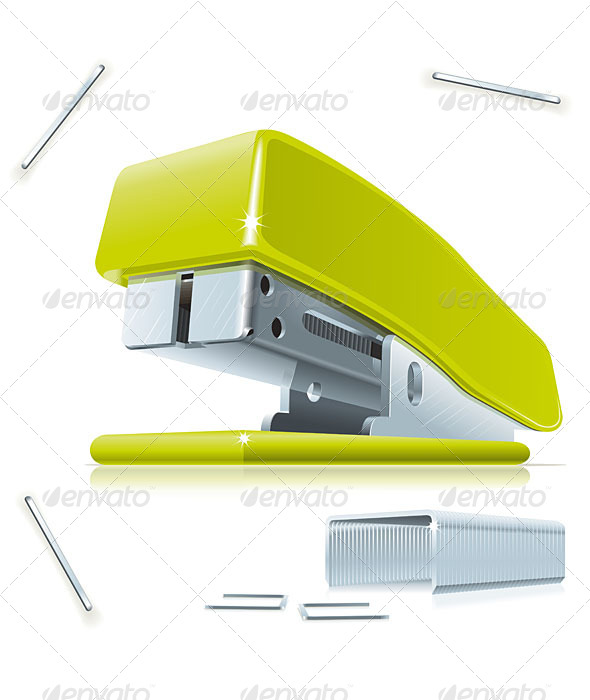 GraphicRiver Stapler and Staples 5137353