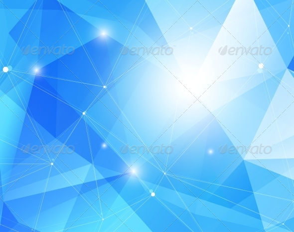 GraphicRiver Abstract Blue Background 5137755