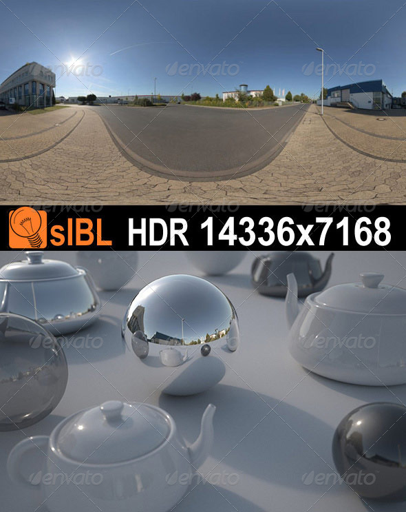 HDR 085 Road sIBL  - 3DOcean Item for Sale