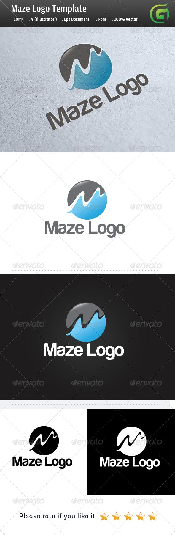 GraphicRiver Maze Logo 5138023