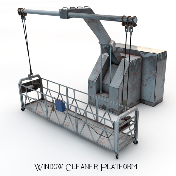 3DOcean Window Cleaner Platform 5138131