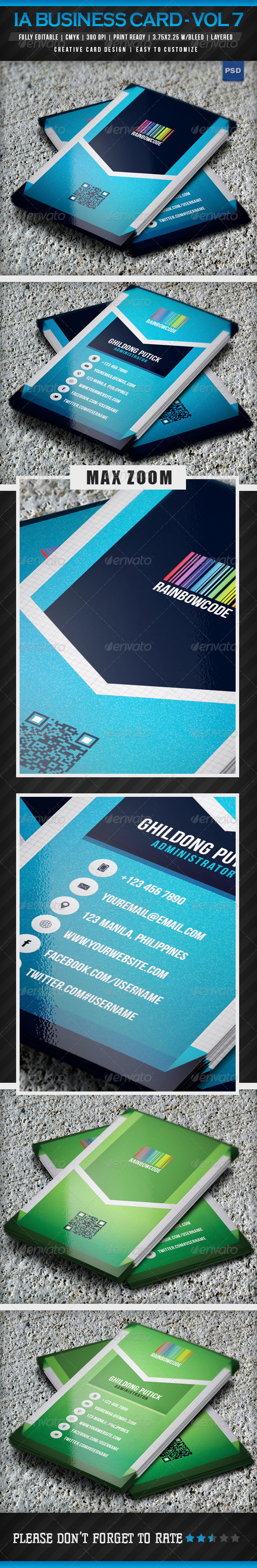 GraphicRiver IntenseArtisan Business Card Vol.16 5082905