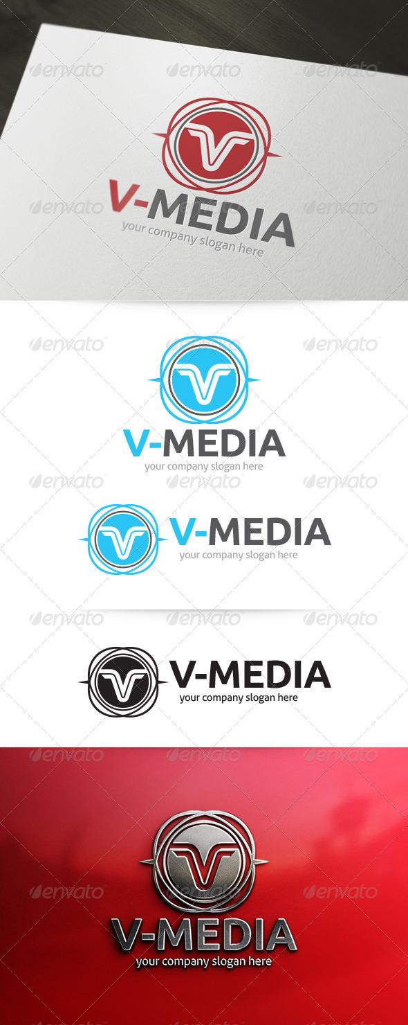 GraphicRiver Letter V Logo 5139092