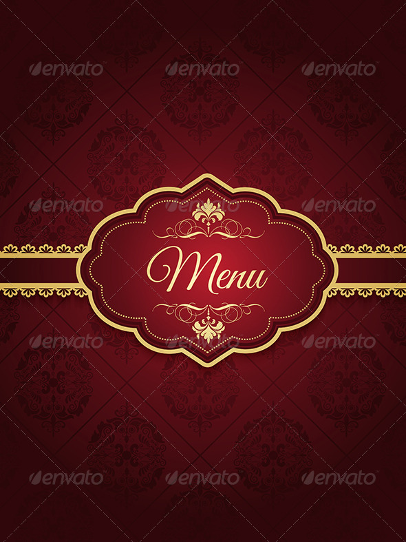 Menu Design - Backgrounds Decorative