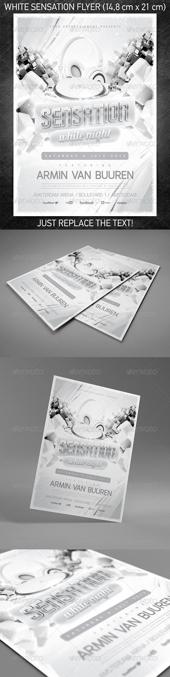 GraphicRiver White Sensation Flyer Vol.2 5139127