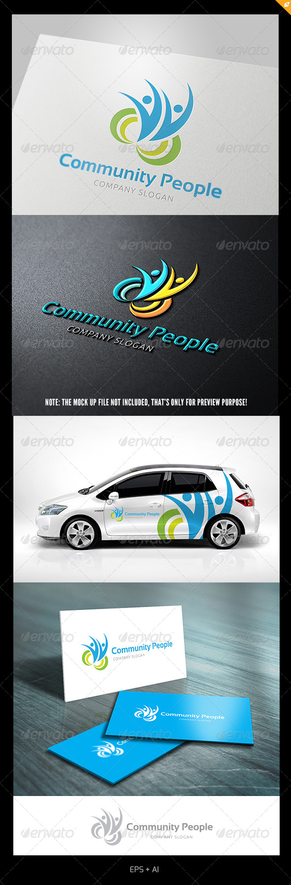 GraphicRiver Community People 5139316