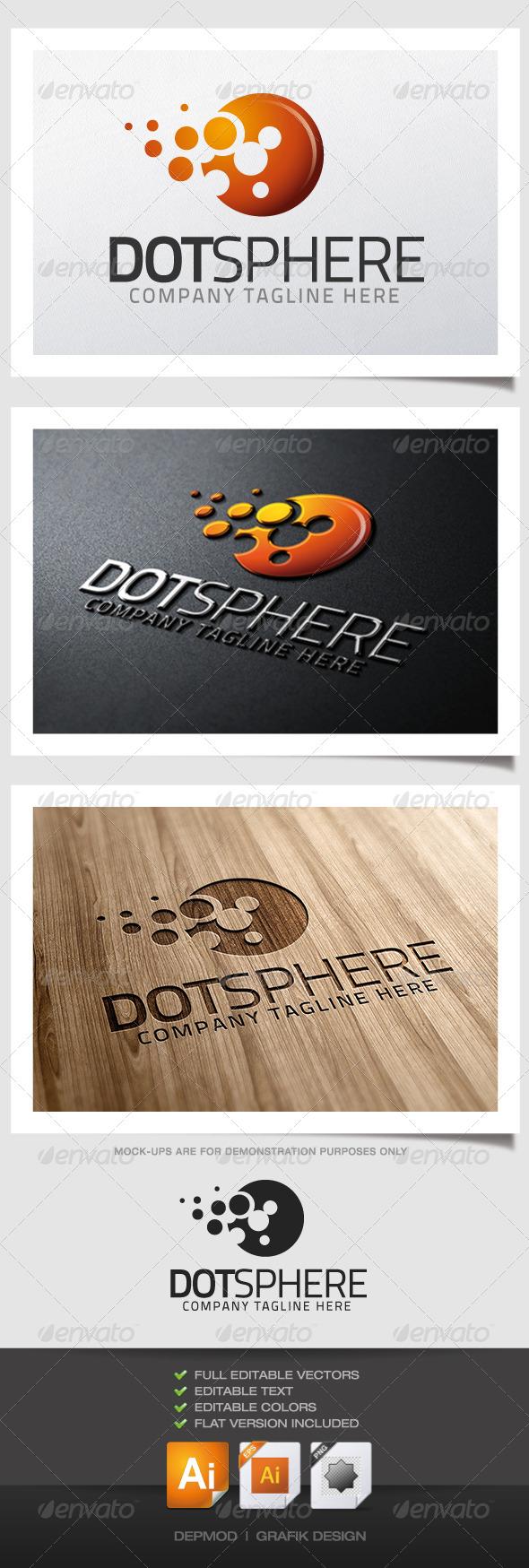 GraphicRiver Dot Sphere Logo 5139481