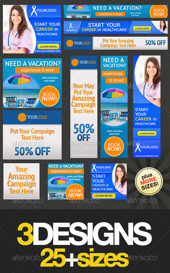 GraphicRiver Multipurpose Web Banner Design Bundle 2 5139493