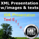 XML Presentation Pack with images and text effects - ActiveDen Item for Sale