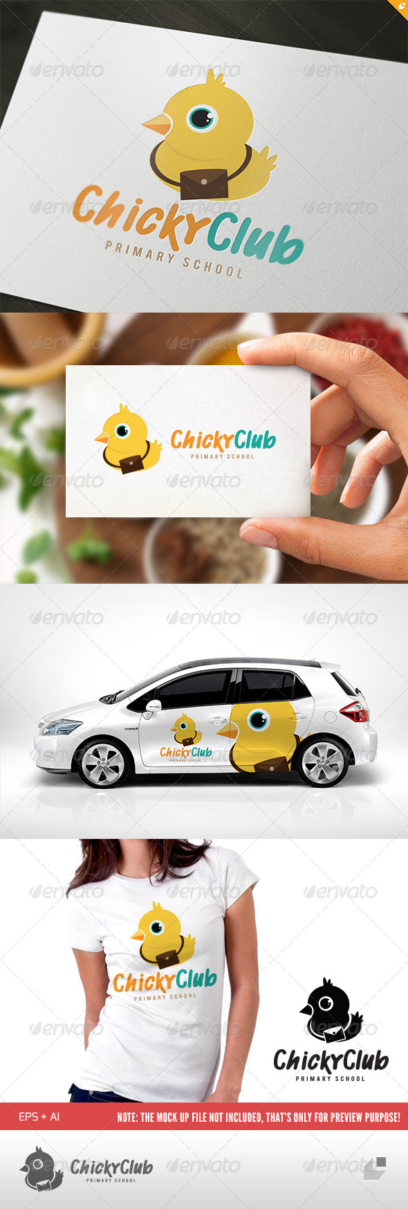 GraphicRiver Chicky Club 5140563