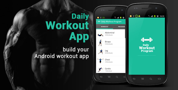 CodeCanyon Daily Workout App 5140781