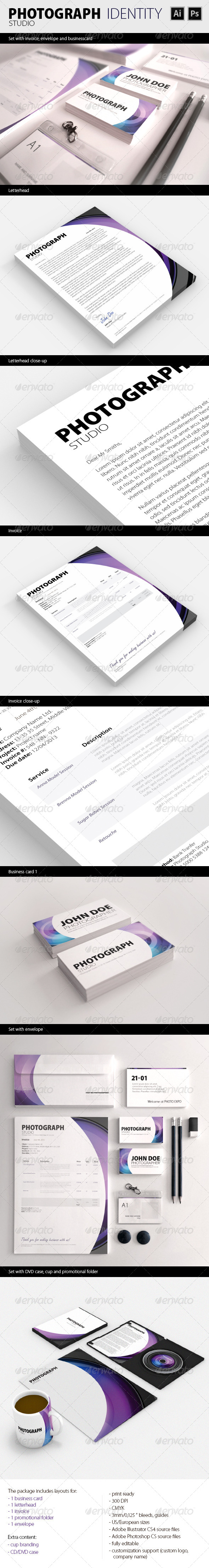 PhotoGraph Studio Corporate Identity