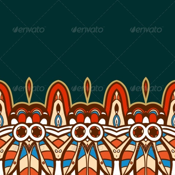 GraphicRiver Seamless Indian Pattern 5141179