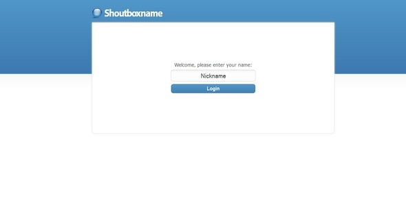 Shoutbox - CodeCanyon Item for Sale