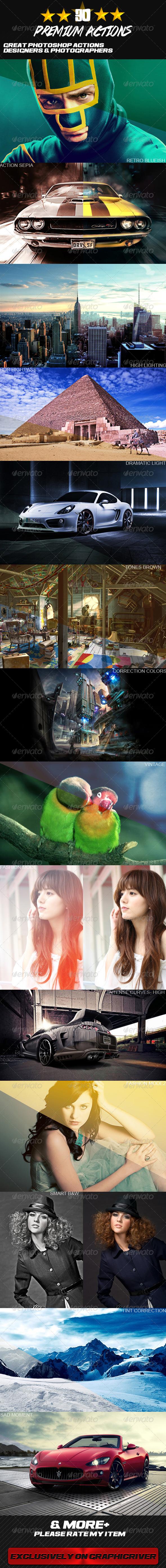 GraphicRiver 30 Premium Photo Effect 5141678