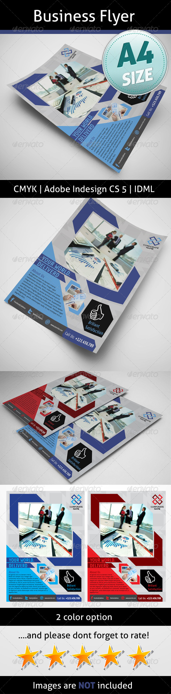 GraphicRiver Business Flyer 5142154