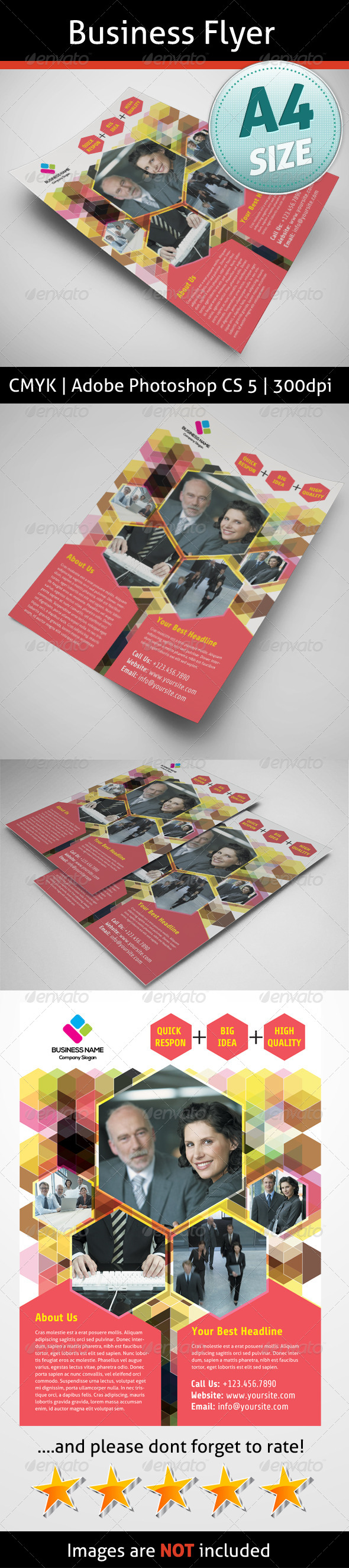 GraphicRiver Business Flyer 5142155