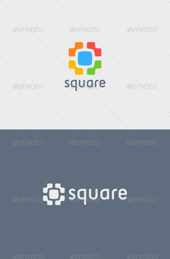 GraphicRiver Square Logo 5142960