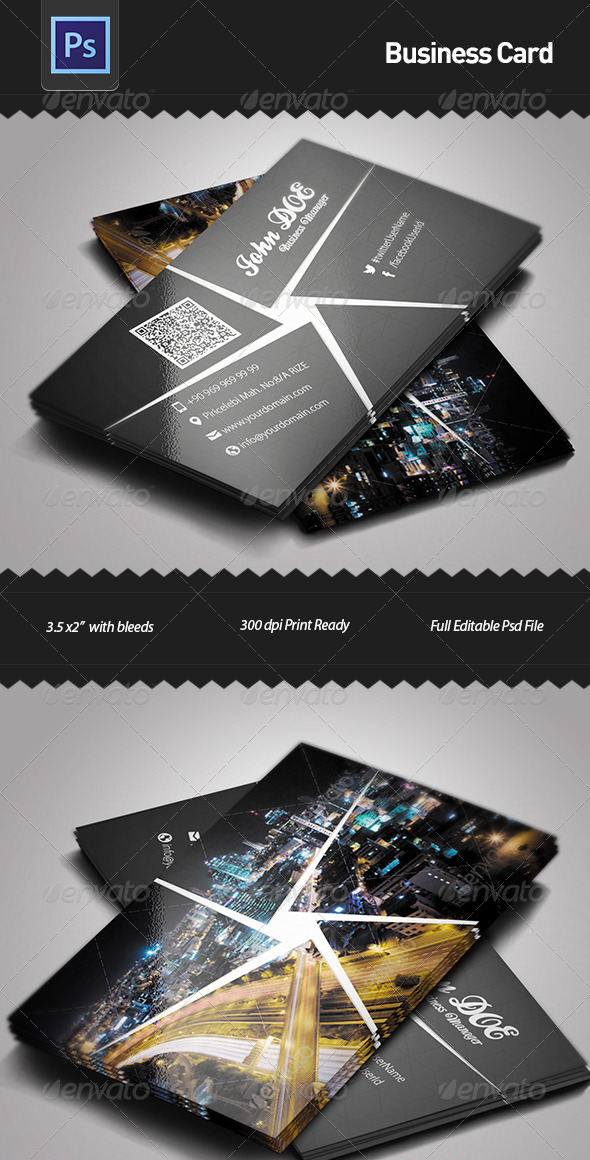 GraphicRiver Business Card 5084498