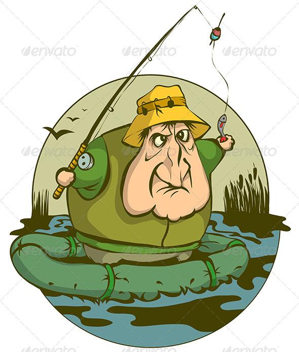 GraphicRiver Fisherman 5144531