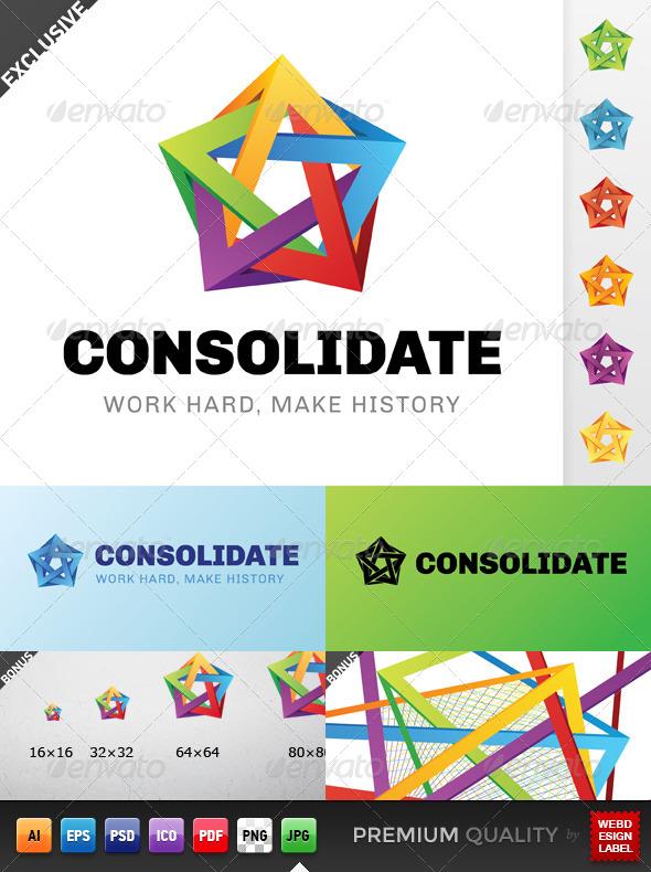 GraphicRiver Consolidate Logo 5144910