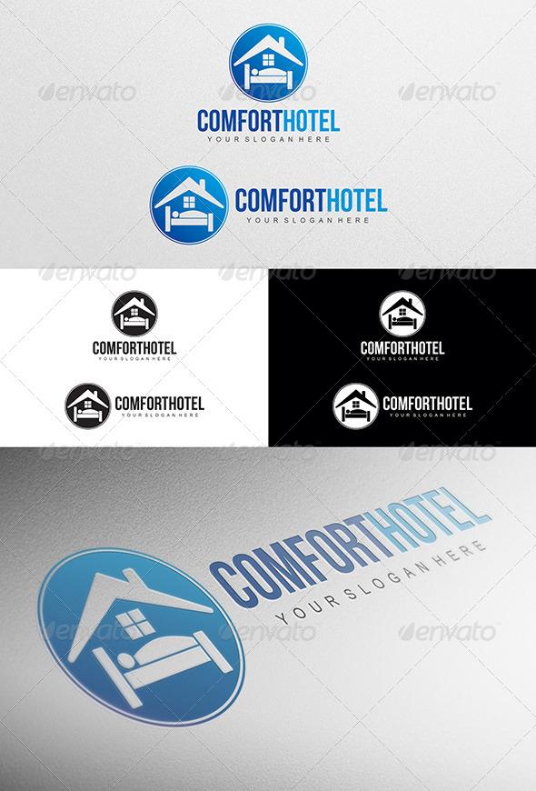 GraphicRiver Comfort Hotel Logo 5145162