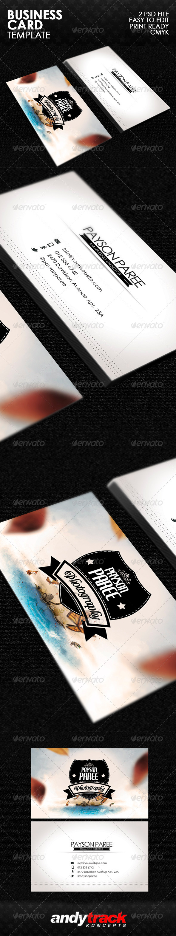 GraphicRiver Greatest Business Card Template v.1 5145170