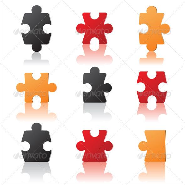 GraphicRiver Puzzles 5146930