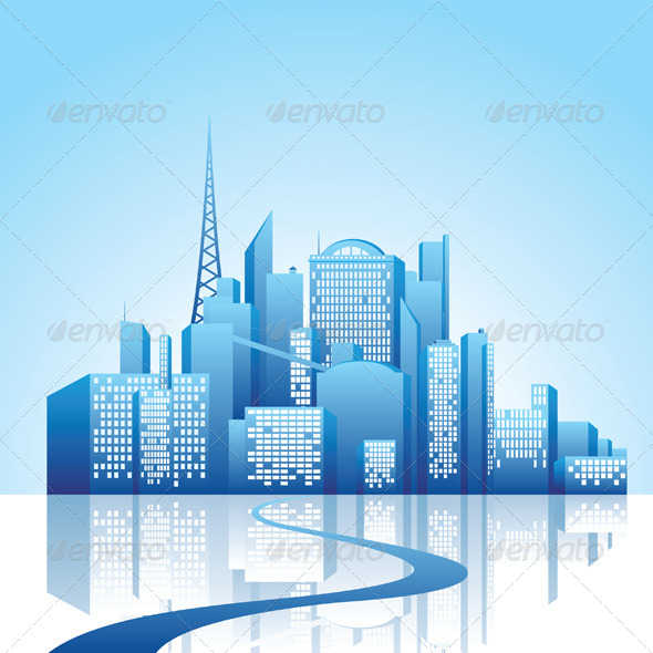 GraphicRiver City Landscape 5146944